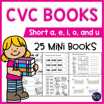 CVC Booklets - CVC Activities