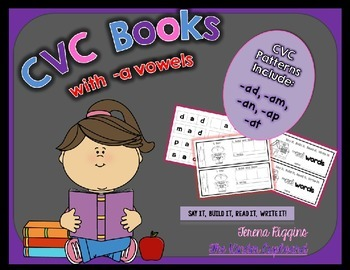 CVC Word Family Books {short a}
