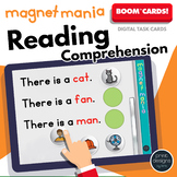Boom Cards Remote Distance Learning • READING COMPREHENSION • Magnet Mania
