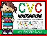 CVC Word Boxers {Phoneme Segmentation}