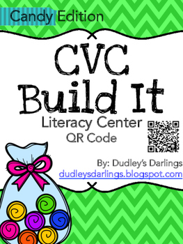 CVC Build It, Write It, Scan It (Candy Edition)