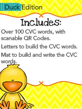 CVC Build It, Write It, Scan It (Duck Edition)