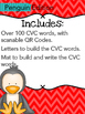 CVC Build It, Write It, Scan It (Penguin Edition)