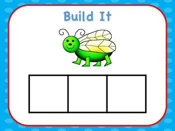 Interactive CVC Build The Word Short Vowel Bundle