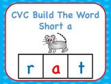 CVC Build The Word Short a