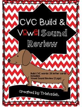 CVC Build & Vowel Sound Review