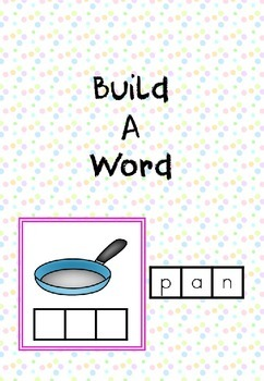 CVC - Build a Word Cards