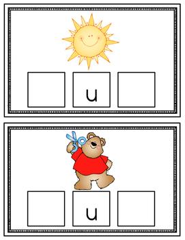CVC Build a Word Cards