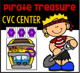 CVC Build a Word Center- Pirates