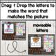 CVC Build a Word DIGITALLY ~ for Google Drive & Classroom