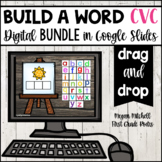 CVC Build a Word DIGITALLY ~ for Google Drive & Classroom