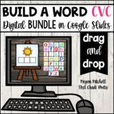 Google Classroom Digital CVC Build a Word DIGITALLY for Go