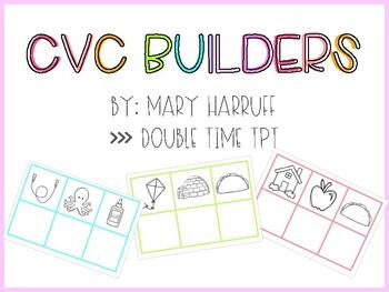 CVC Builders - Word Families