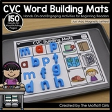 CVC Building Mats Digital Google Slides and Print