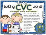 CVC Building Word Cards