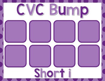 CVC Bump {Short i}