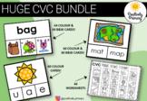 CVC Bundle -184 different clip cards + 44 worksheets #ausbts18