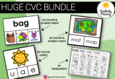 CVC Bundle -184 different clip cards + 44 worksheets