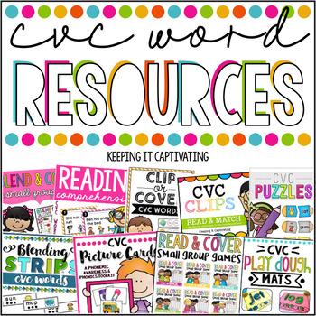 CVC Word Resources {Bundle}