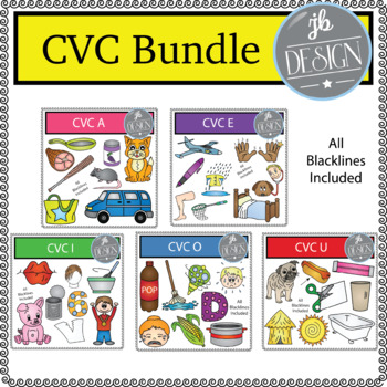CVC Bundle (JB Design Clip Art for Personal or Commercial Use)
