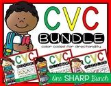 CVC Words Bundle {Phoneme Segmentation}