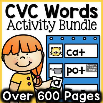CVC Word Activity Bundle