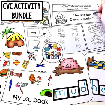 CVC Words Activity Bundle
