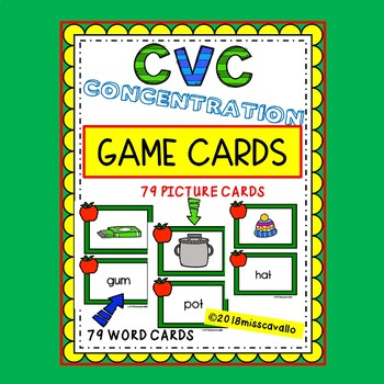 CVC CONCENTRATION GAME CARDS