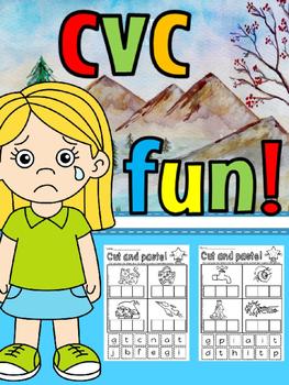 CVC CUT AND PASTE(FREE- FEEDBACK CHALLENGE)