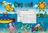 CVC CUT AND PASTE PLUS EXIT TICKETS- SHORT A