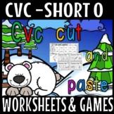 CVC CUT AND PASTE PLUS EXIT TICKETS- SHORT O