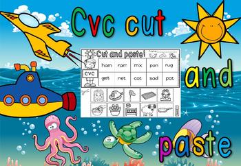 CVC CUT AND PASTE WORD(FREE- FEEDBACK CHALLENGE)