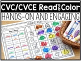 CVC/CVCE Read and Color Sheets