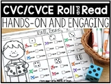 CVC/CVCE Roll and Read Word Mats