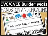CVC/CVCE Word Builders Mats