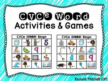 CVC & CVCe Activity Packs BUNDLE