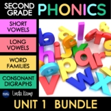 Long and Short Vowels and Digraphs Phonics Bundle