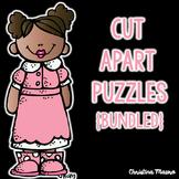 CVC, CVCe, Digraphs, Blends - Cut Apart Puzzles {Bundled}