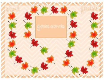 CVC & CVCe Reading Game for Fall