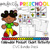 CVC Calendar Pocket Chart Activity Bundle