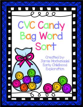 CVC Candy Bag Word Sort