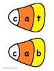 CVC Word Games Candy Corn Puzzles