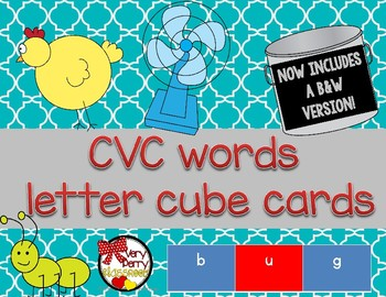 CVC Cards for Linking Cubes