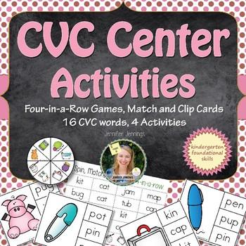 CVC Center Games Activities