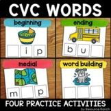 CVC Activities for Practice Set 1