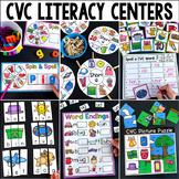 CVC Centers - Short Vowels (Volume Two)