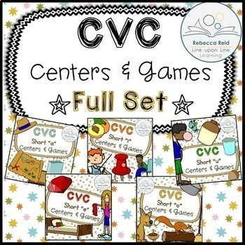 CVC Centers and Games FULL SET BUNDLE