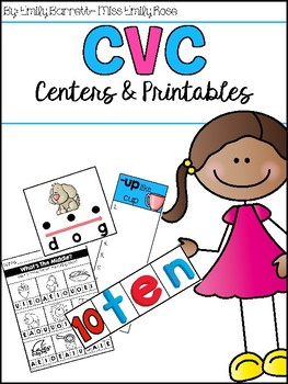 CVC Centers and Printables