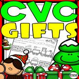 CVC Christmas Gifts Literacy Pack Kindergarten 1st Grade
