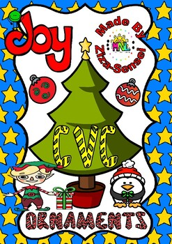 CVC Christmas Ornaments Pack (30 pages)